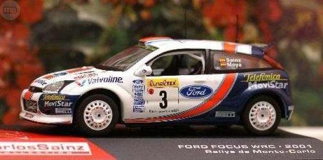 Ford Focus Wrc 2001 Rallye De Montecarlo