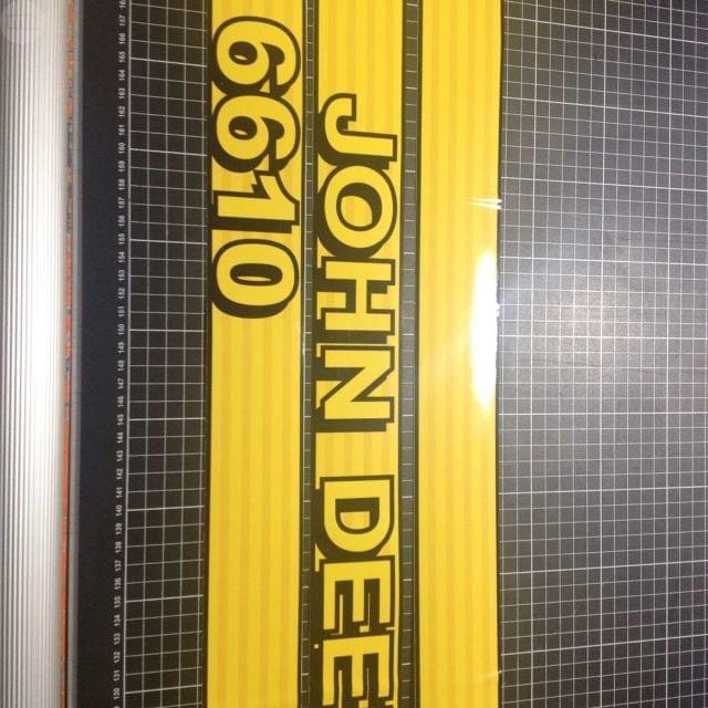 PEGATINAS ADHESIVOS JOHN DEERE 6610