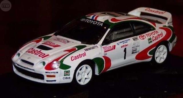 Toyota Celica Gt4 Rallye Tour De Corse 1