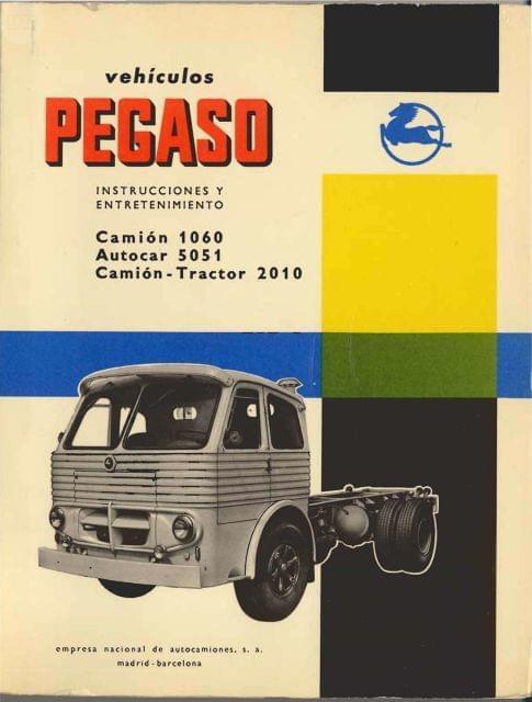 MANUAL DE USO PEGASO 1060, 5051 Y 2010