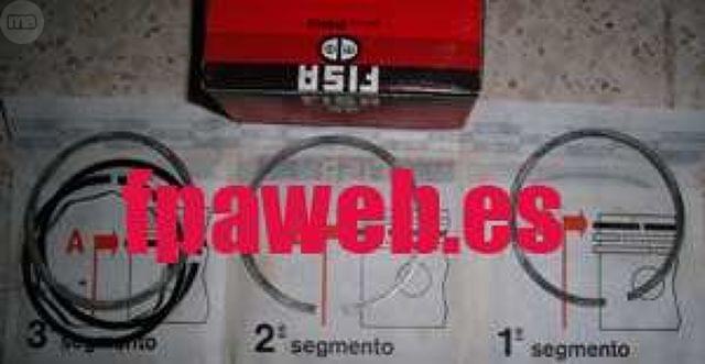 AROS PISTÓN MAHLE +0, 40 SEAT 1430 1600 - foto 1