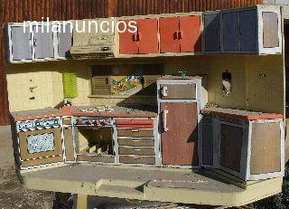 Cocinita De Juguete Antigua