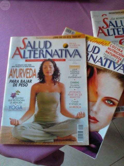 REVISTAS SALUD ALTERNATIVA