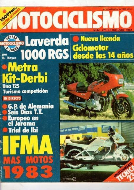 Revista Motociclismo Numero 770