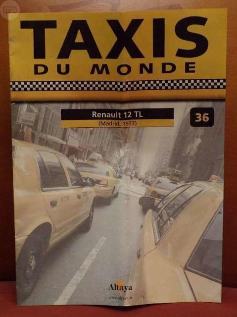 Fasciculo N 36 Renault 12 Tl Taxi De Mad