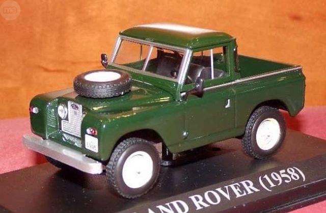 Land Rover Escala 1:43 De Altaya En Su C