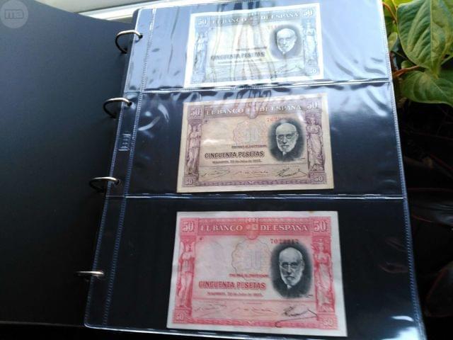 Colección De Billetes Españoles