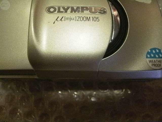 OLYMPUS COMPACTAS ANALOGICAS MJU   ZOOM - foto 1