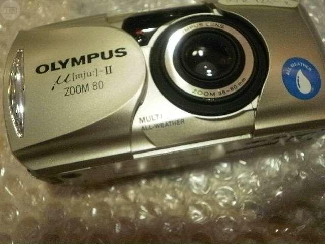 OLYMPUS COMPACTAS ANALOGICAS MJU   ZOOM - foto 4
