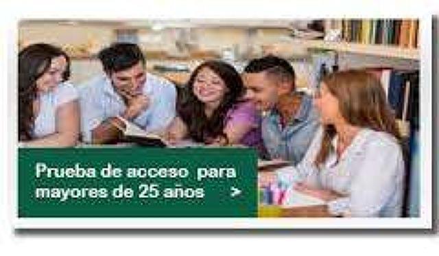 ACCESO UNED 2017 MAYORES DE 25