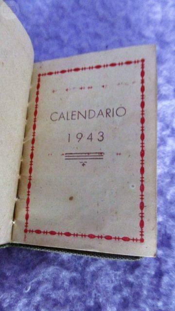 MINI LIBRO CALENDARIO 1943 - foto 2