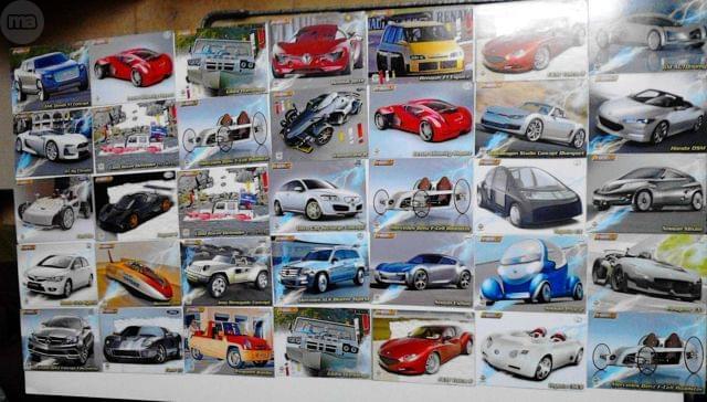 CROMOS COCHES (A TODO GAS Y TOP CARS)
