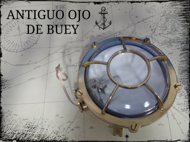 OJOS DE BUEY ANTIGUOS,  ORIGINALES.  - foto 3