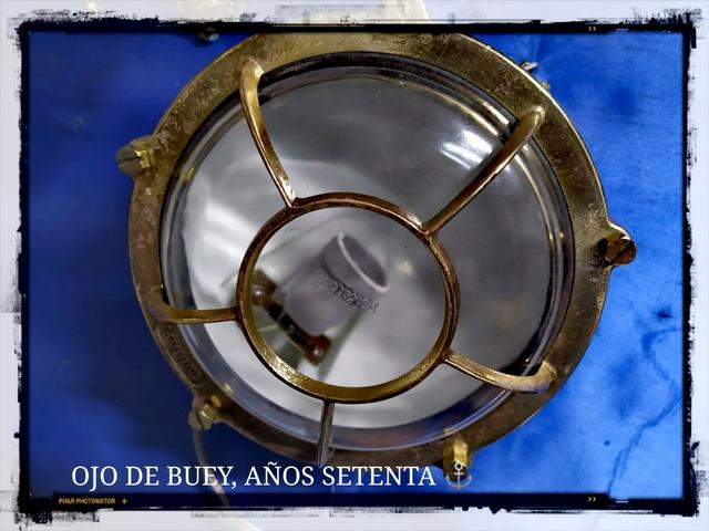 OJOS DE BUEY ANTIGUOS,  ORIGINALES.  - foto 1