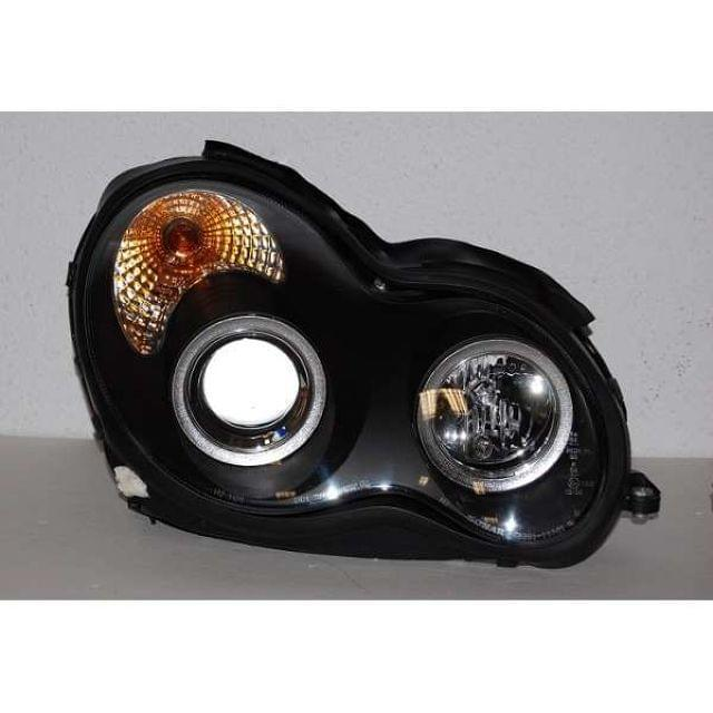 FAROS MERCEDES W203 2001-2007 BLACK