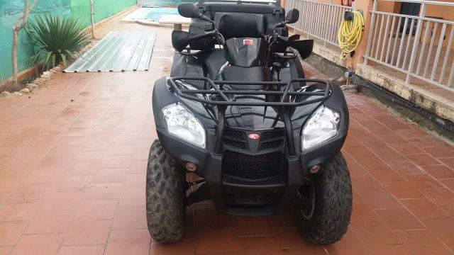 DESPIECE ATV - KYMCO MXU 500