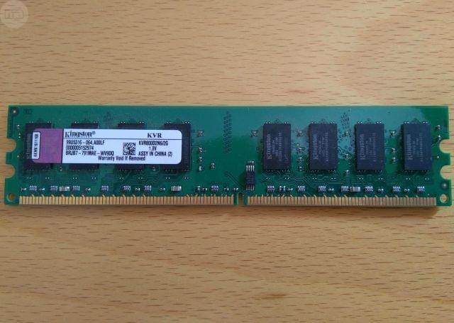 DDR2 DE 2GB KINGSTON - foto 1