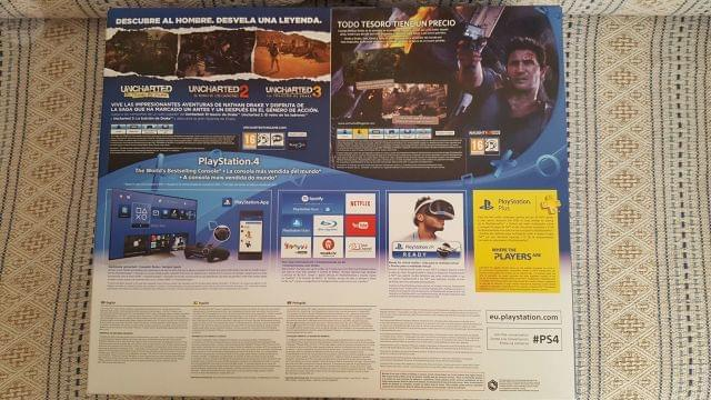 PLAYSTATION 4 SLIM 1TB + PACK UNCHARTED - foto 2