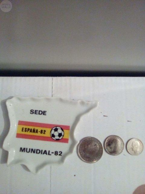 Monedas Antiguas Y Cenicero Mundial 82