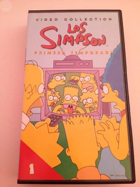 VHS DE LOS SIMPSONS - foto 1