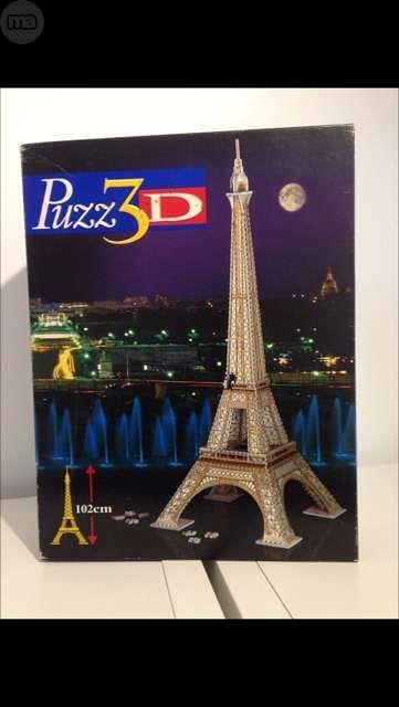 PUZZLE 3 D LA TOUR EIFEEL
