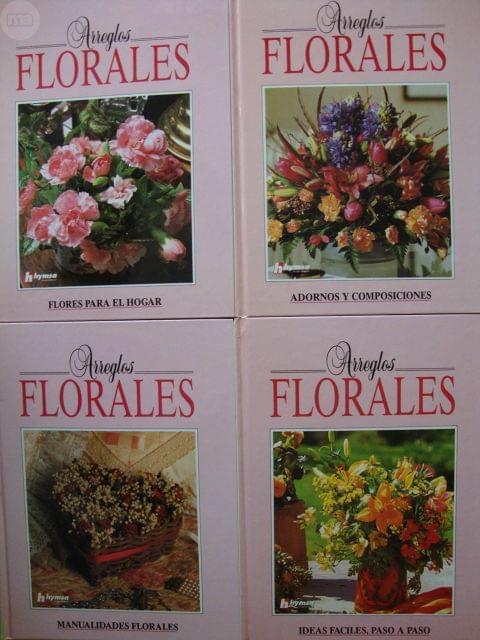 Arreglos Florales 4 Tomos Con Estuche