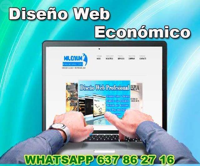 DISEÑO PÁGINA WEB ECONÓMICA - foto 2