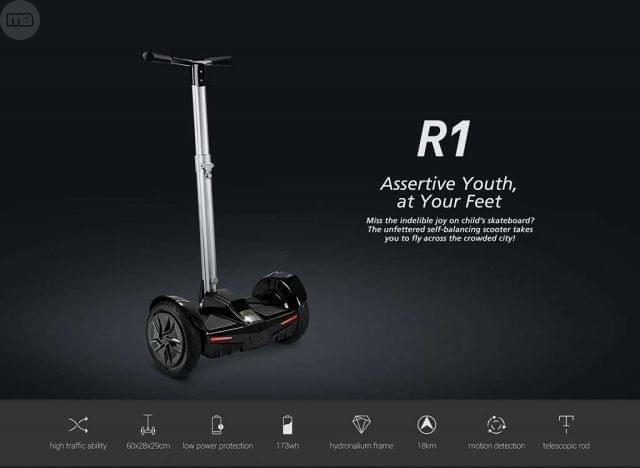 SCOOTER HOVERBOARD SEGWAY INNJOO R1, CAR