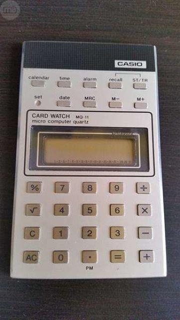 Calculadora Computer Casio Mq-11