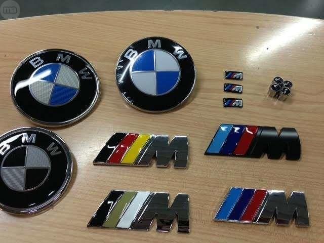 EMBLEMAS BMW , PEGATINAS M