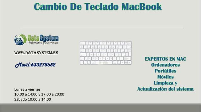 CAMBIO DE TECLADO MACBOOK PRO - foto 1