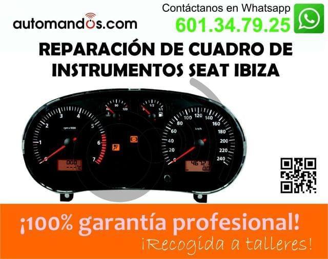 CUADRO SEAT IBIZA: REPARACION