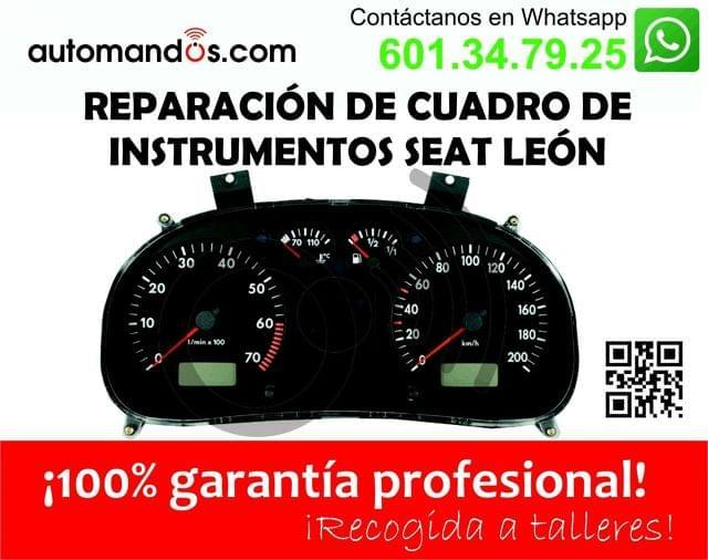 REPARACION CUADRO SEAT LEON, TOLEDO