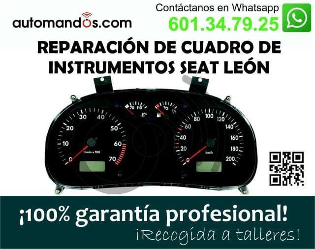 REPARAR CUADRO SEAT TOLEDO Y SEAT LEON