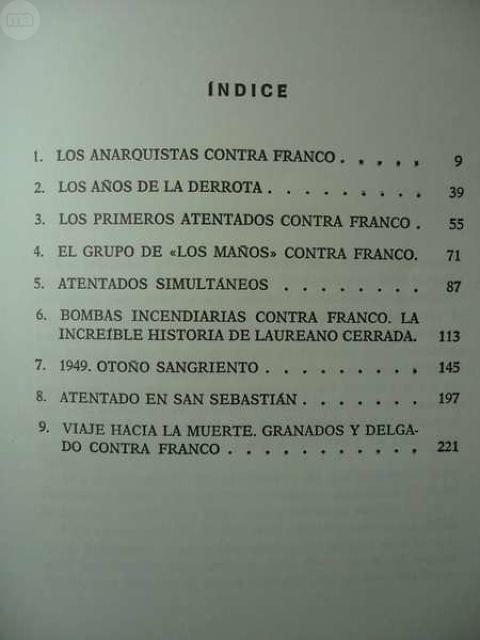 LOS ATENTADOS CONTRA FRANCO 1º ED-1976 - foto 4