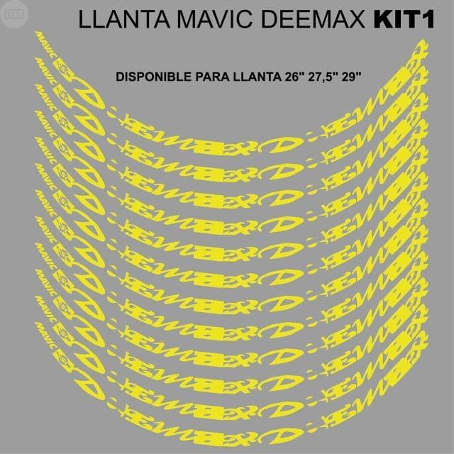 MAVIC DEEMAX LLANTA MTB KIT1