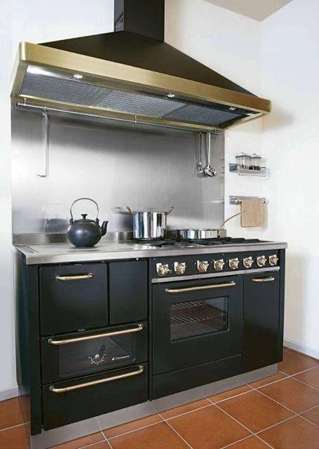 Mil anuncios com combinaci n cocinas le a gas campana - Cocinas bilbainas de lena ...