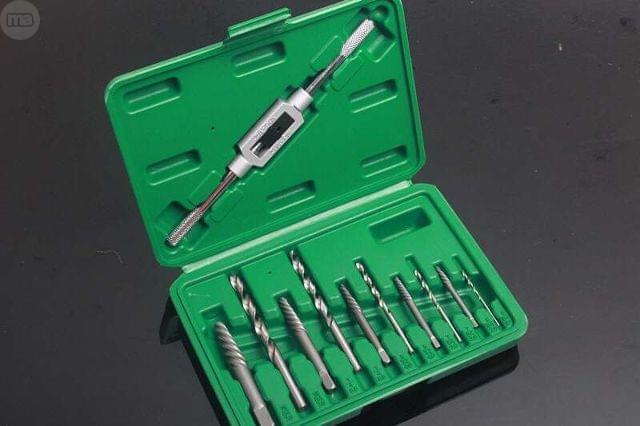 Kit Extractor Tornillos Rotos
