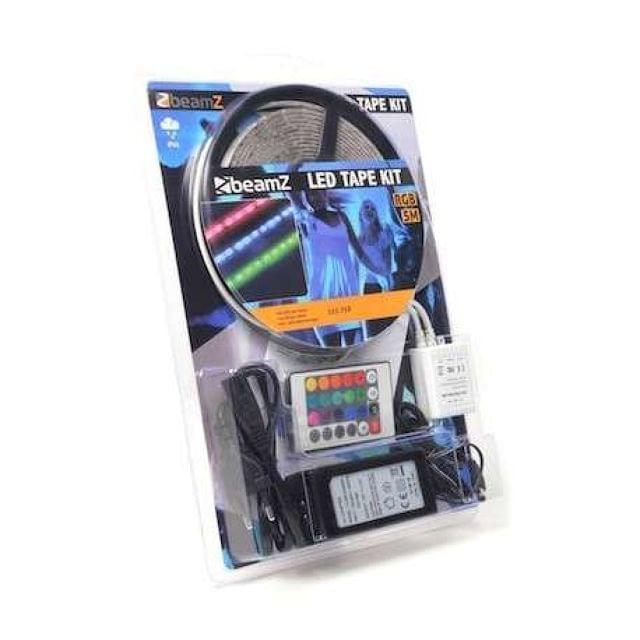 KIT DE CINTA LED 5M RGB 60 LEDS M IP65