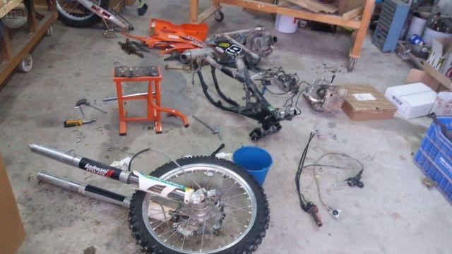 DESPIECE KTM SXF 350 2012 INYECCION