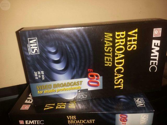 CINTAS VIDEO VHS SVHS BETACAM - foto 1