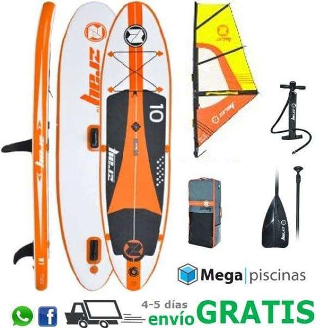 TABLA + VELA PADDLE WIND SURF - ZRAY W1 - foto 1