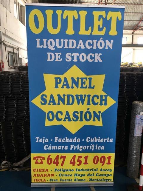 Panel Sandwich Super Precio          (2)
