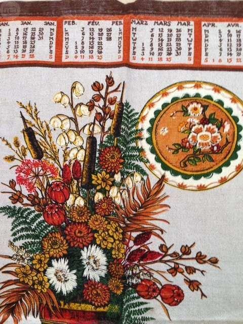 Calendario Del 1979.Calendario Original Del Ano 1979