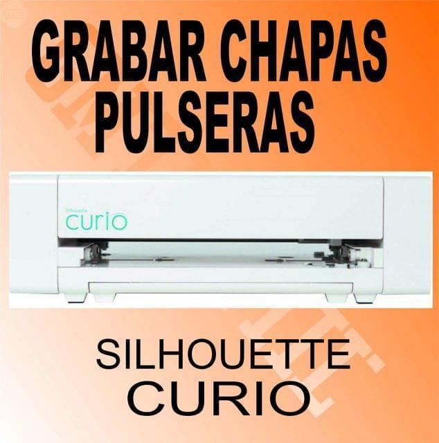 GRABADO METAL SILHOUETTE CURIO NO LASER - foto 1
