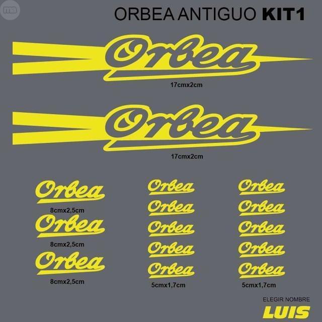 ORBEA ANTIGUO KIT1 ADHESIVOS, VINILOS