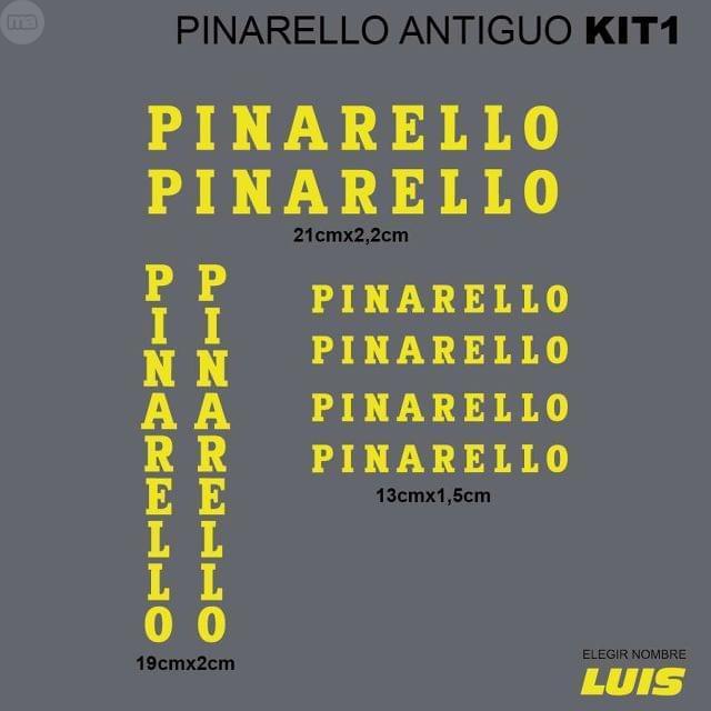 PINARELLO ANTIGUO KIT1 ADHESIVOS, VINILO