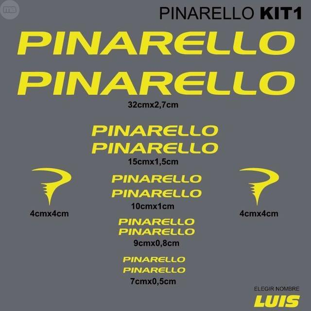 PINARELLO KIT1 ADHESIVOS, VINILOS, CALCA
