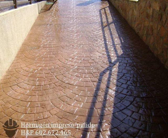 HORMIGON IMPRESO DECORATIVO GUADALAJARA - foto 2