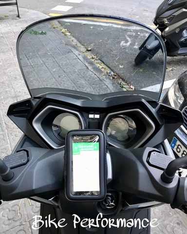 FUNDA GPS PARA MOVIL YAMAHA X MAX segunda mano  Barcelona